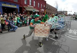 Boulder Colorado St Pat's Parade