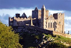 Cashel of the Kings in 1986 (in country Tipperary)