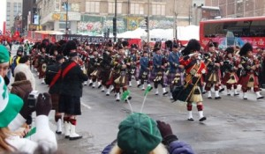 Bag Pipes on St. Patricks Day