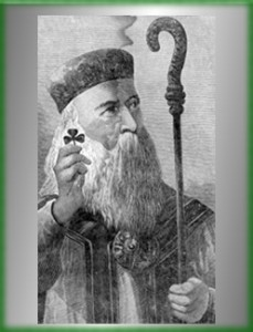 Saint Patrick with Shamrock