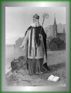 St Patrick on Ireland Shore