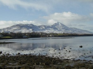 Croagh Patrick, or St. Patrick's mountain