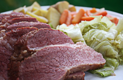 Corned Beef & Cabbage Image