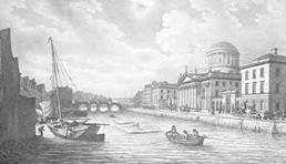 18th Century - Customs House in Dublin